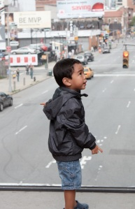 Boy Above the Street